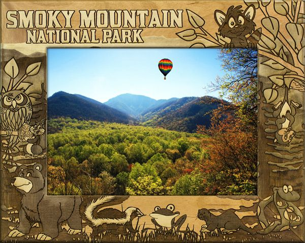 Smoky Mountain National Park Vacation Frame Smoky Mountain Photo Frames