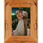 5 Reasons Why Engraved Wedding Frames Make the Perfect Gift for Newlyweds
